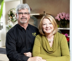 Dave And Colleen Naylor, Owners Jenny's Floral Studio