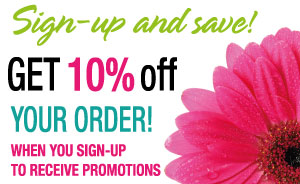 Get 10% off your order